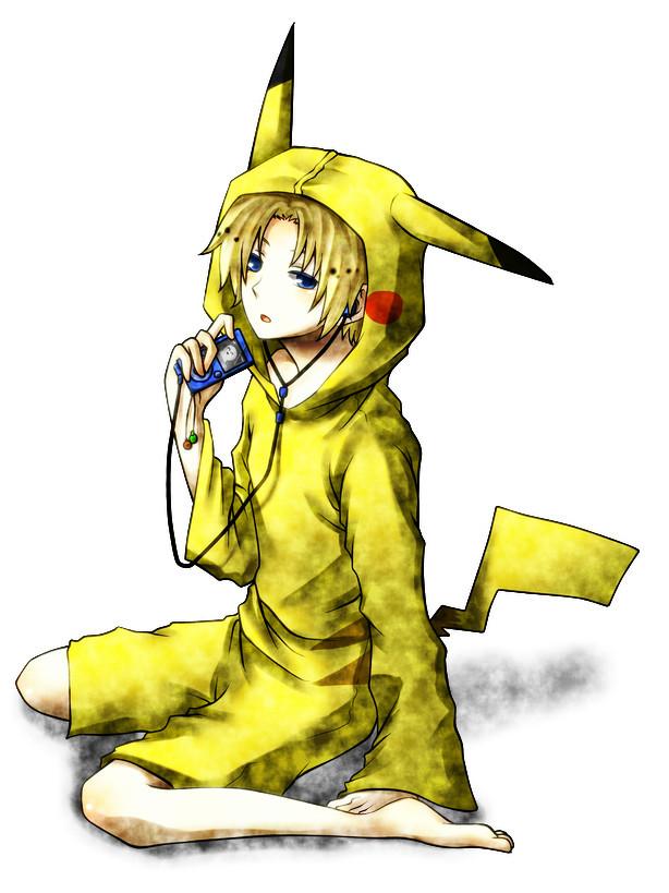 Tags: Anime, Pixiv Id 1730001, UTAU, Suiga Sora, Pikachu (Cosplay), Pokémon (Cosplay), Fanart, Pixiv
