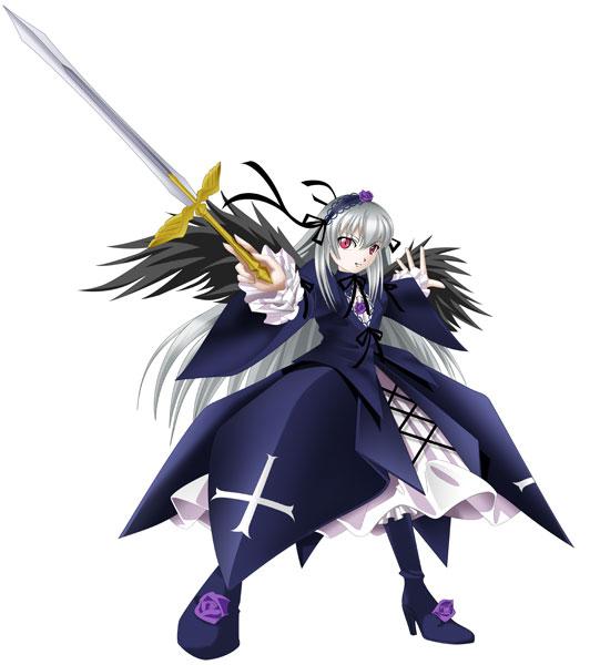 Tags: Anime, Pixiv Id 289951, Rozen Maiden, Suigintou