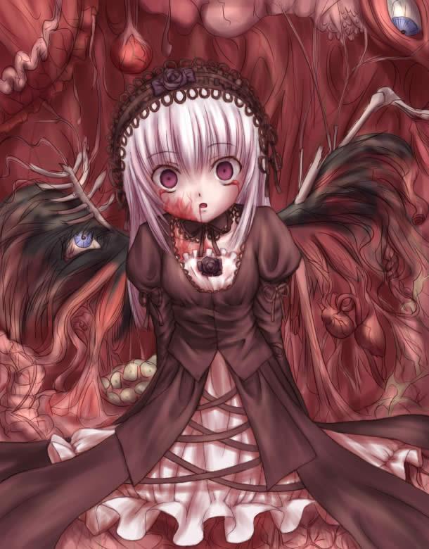Tags: Anime, Rozen Maiden, Suigintou