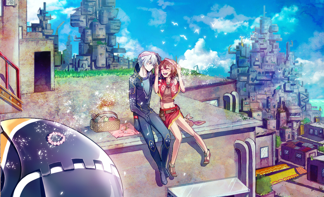 Suisei No Gargantia Ledo And Amy