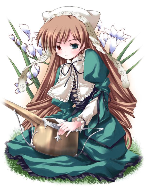 Tags: Anime, Pixiv Id 3789503, Rozen Maiden, Suiseiseki, Fanart, Artist Request