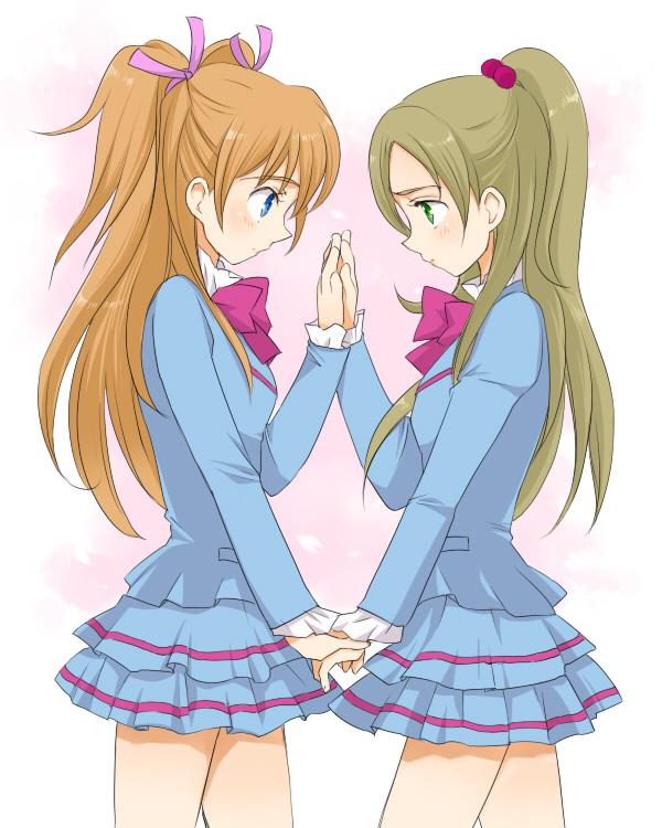 Tags: Anime, Pixiv Id 2748972, Suite Precure♪, Minamino Kanade, Hojo Hibiki, Pixiv, Fanart From Pixiv, Fanart