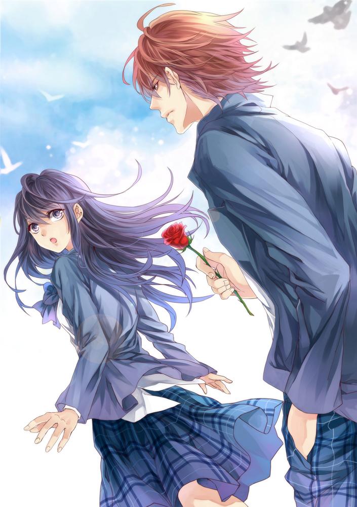 Anime School Book Cover : Book cover scan zerochan anime image board