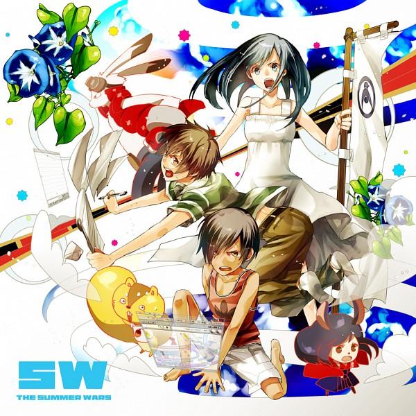 Tags: Anime, Anthro, Flag, Summer Wars, Koiso Kenji, Ikezawa Kazuma, King Kazma