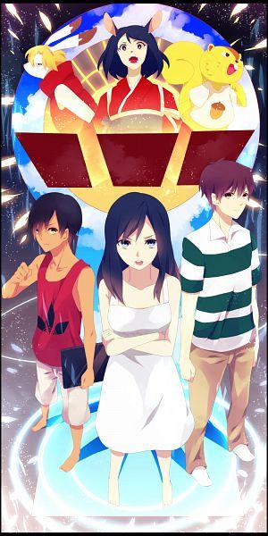Tags: Anime, Anthro, Summer Wars, Koiso Kenji, Ikezawa Kazuma, King Kazma, Shinohara Natsuki