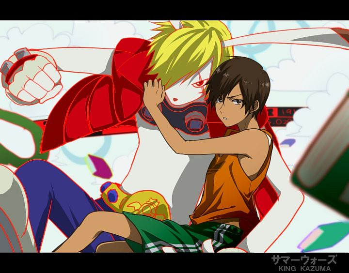 Tags: Anime, Anthro, Summer Wars, Ikezawa Kazuma, King Kazma, Mi-k, Black Border