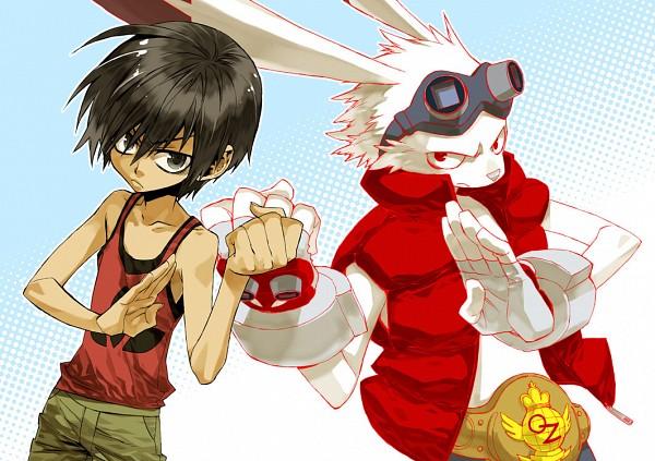 Tags: Anime, Anthro, Summer Wars, Ikezawa Kazuma, King Kazma, Pixiv Id 576249