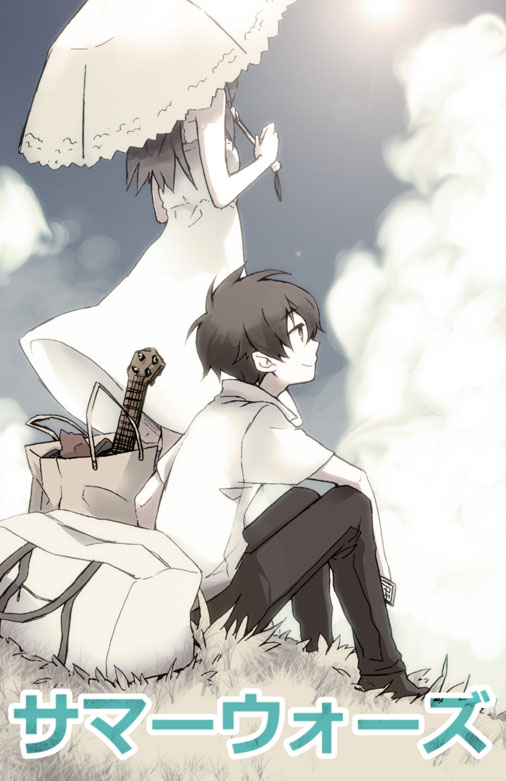 Tags: Anime, Cellphone, Phone, Summer Wars, Koiso Kenji, Shinohara Natsuki, Kuusouryodan