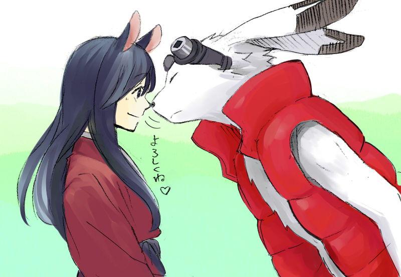 Tags Anime Summer Wars Shinohara Natsuki King Kazma Nose Touching