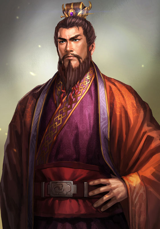 Tags: Anime, Romance of the Three Kingdoms, Dynasty Warriors, Sun Quan, Official Art