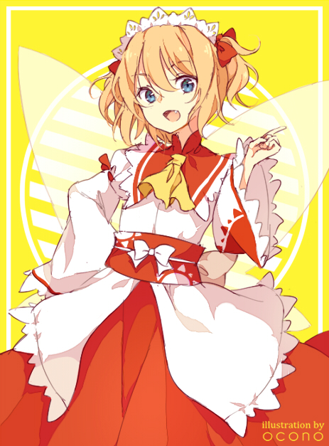 Tags: Anime, ocono, Touhou, Sunny Milk, Pixiv, Fanart From DeviantART, Fanart From Pixiv, PNG Conversion, Fanart, Mobile Wallpaper, deviantART