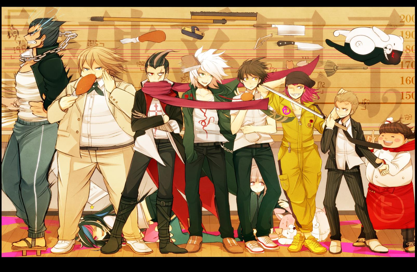 Tags Anime Pixiv Id 3325834 Super Danganronpa 2 Komaeda Nagito Kuzuryuu