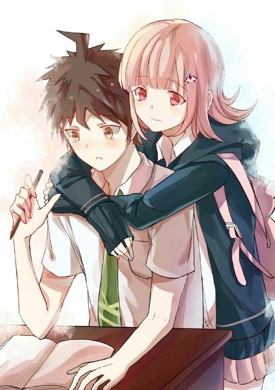 Tags: Anime, Pixiv Id 10943534, Super Danganronpa 2, Hinata Hajime, Nanami Chiaki