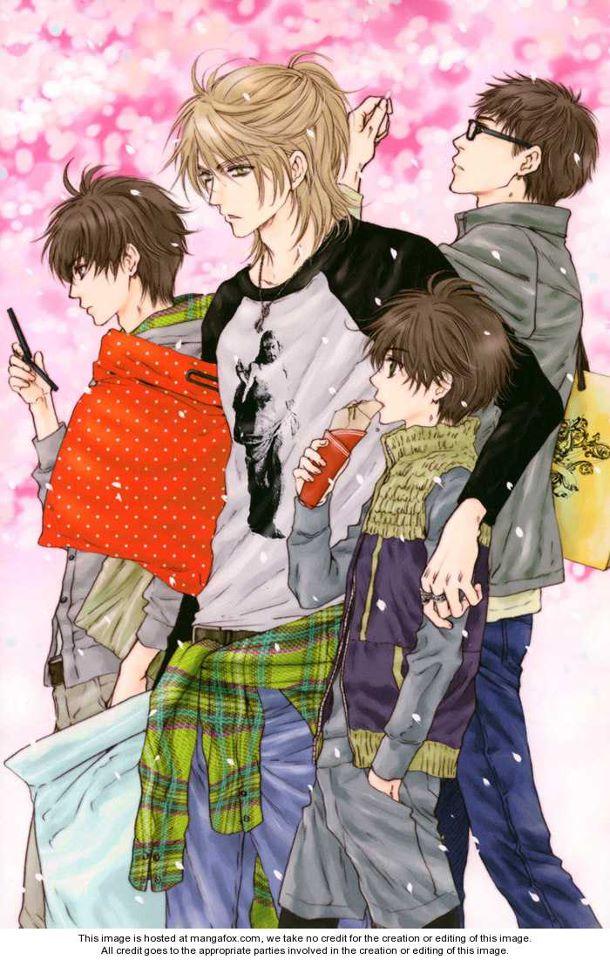 Tags: Anime, Abe Miyuki, Super Lovers, Kaidou Ren, Kaidou Haru, Kaidou Aki, Kaidou Shima, Quad, Crêpe, Official Art, Mobile Wallpaper
