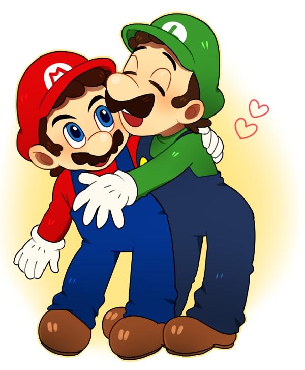 Super Mario Bros Luigi