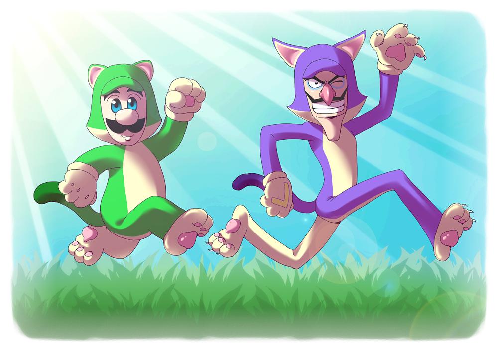 Game Mario Cat