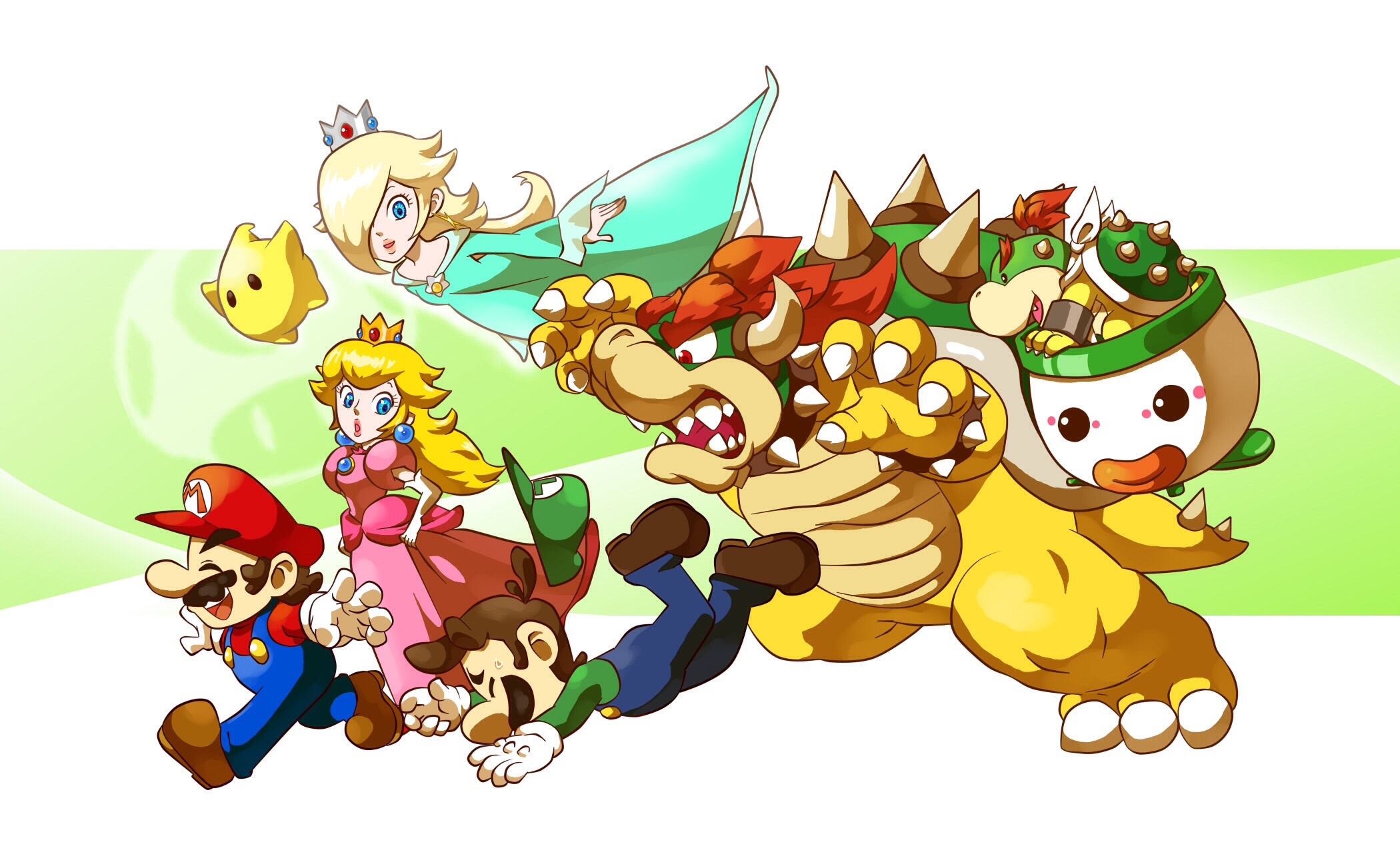 Super Mario Bros Wallpaper 1849739 Zerochan Anime Image Board