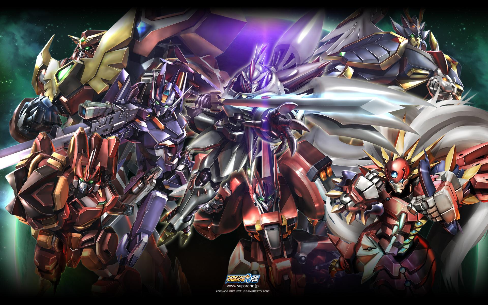 Super robot wars wallpaper zerochan anime image board - Anime war wallpaper ...
