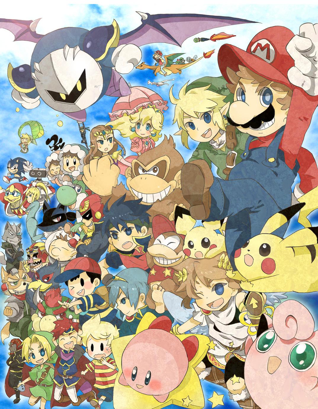 Super Smash Bros Fanart Zerochan Anime Image Board