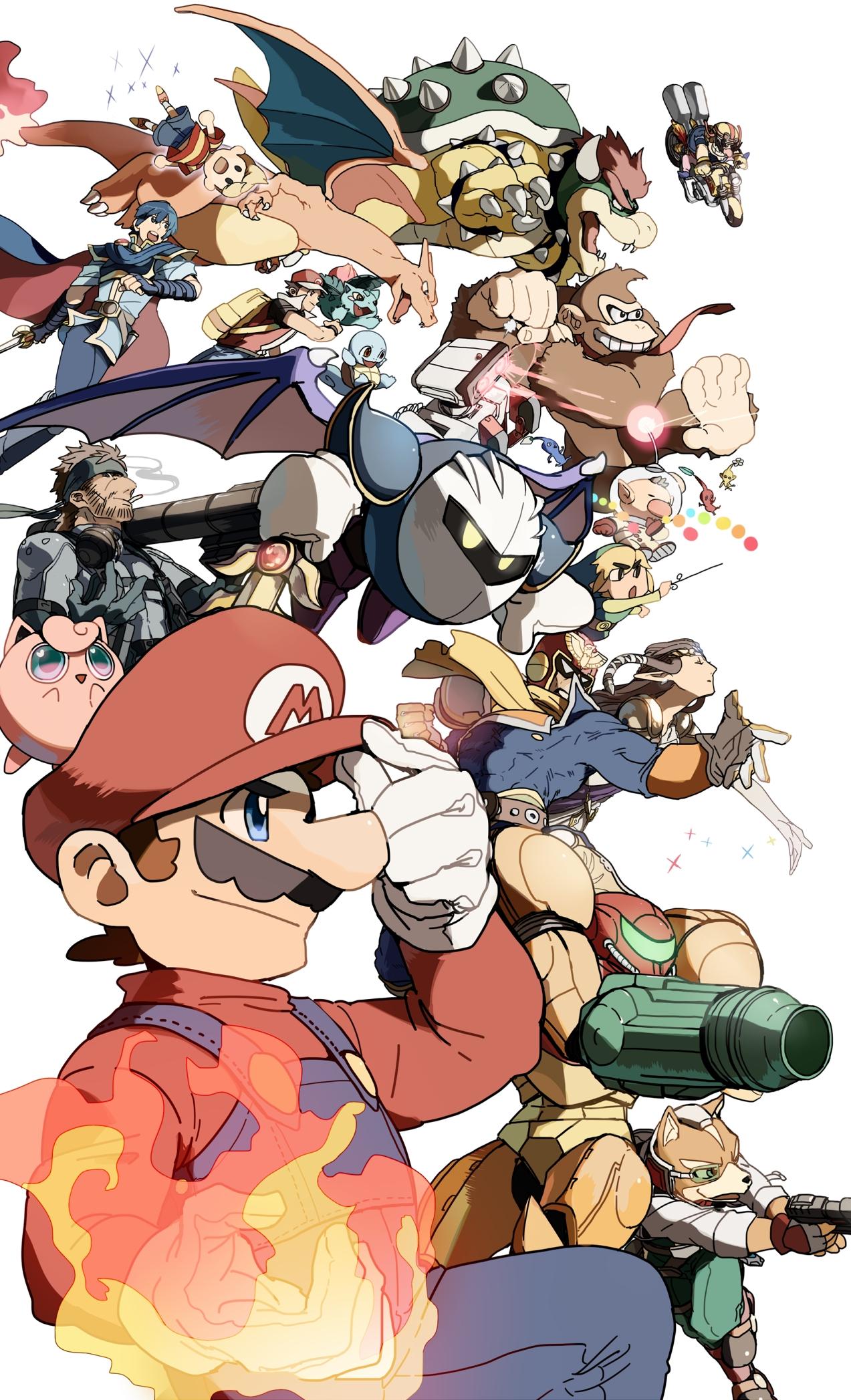 Super Smash Bros Mobile Wallpaper Zerochan Anime Image Board