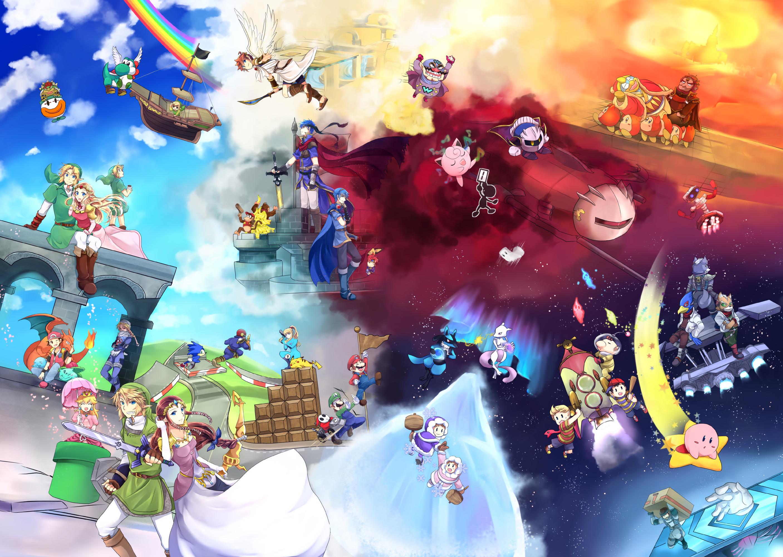 Anime Characters For Smash : Super smash bros zerochan