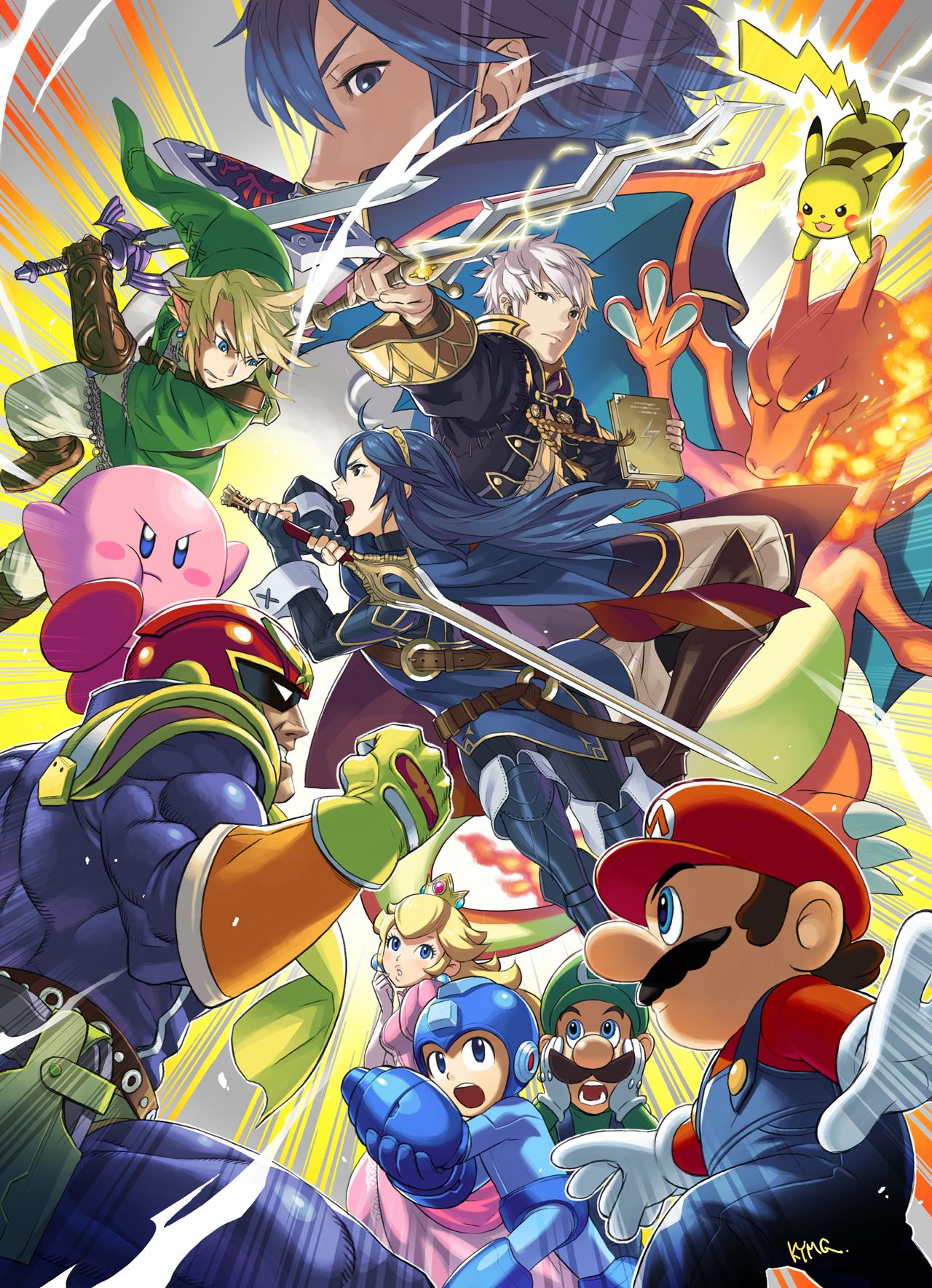 Super Smash Bros Mobile Wallpaper 1950800 Zerochan Anime Image