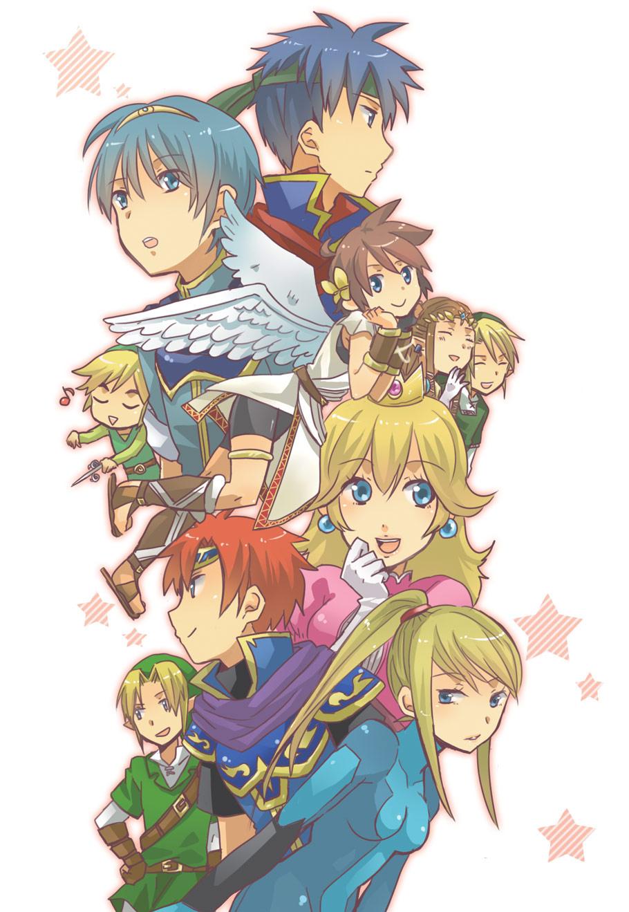 Anime Characters For Smash : Super smash bros mobile wallpaper  zerochan