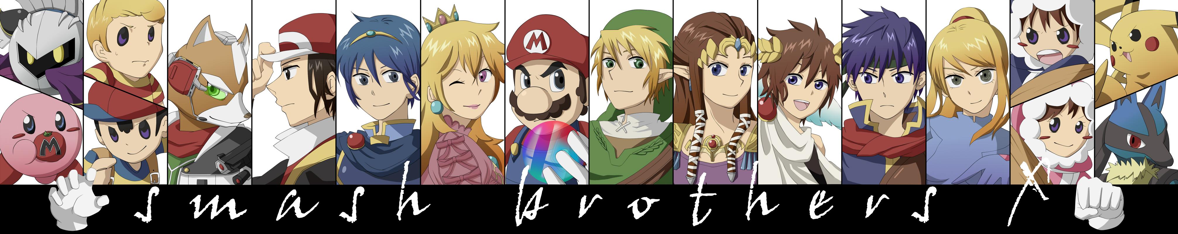 Anime Characters For Smash : Super smash bros image  zerochan anime board