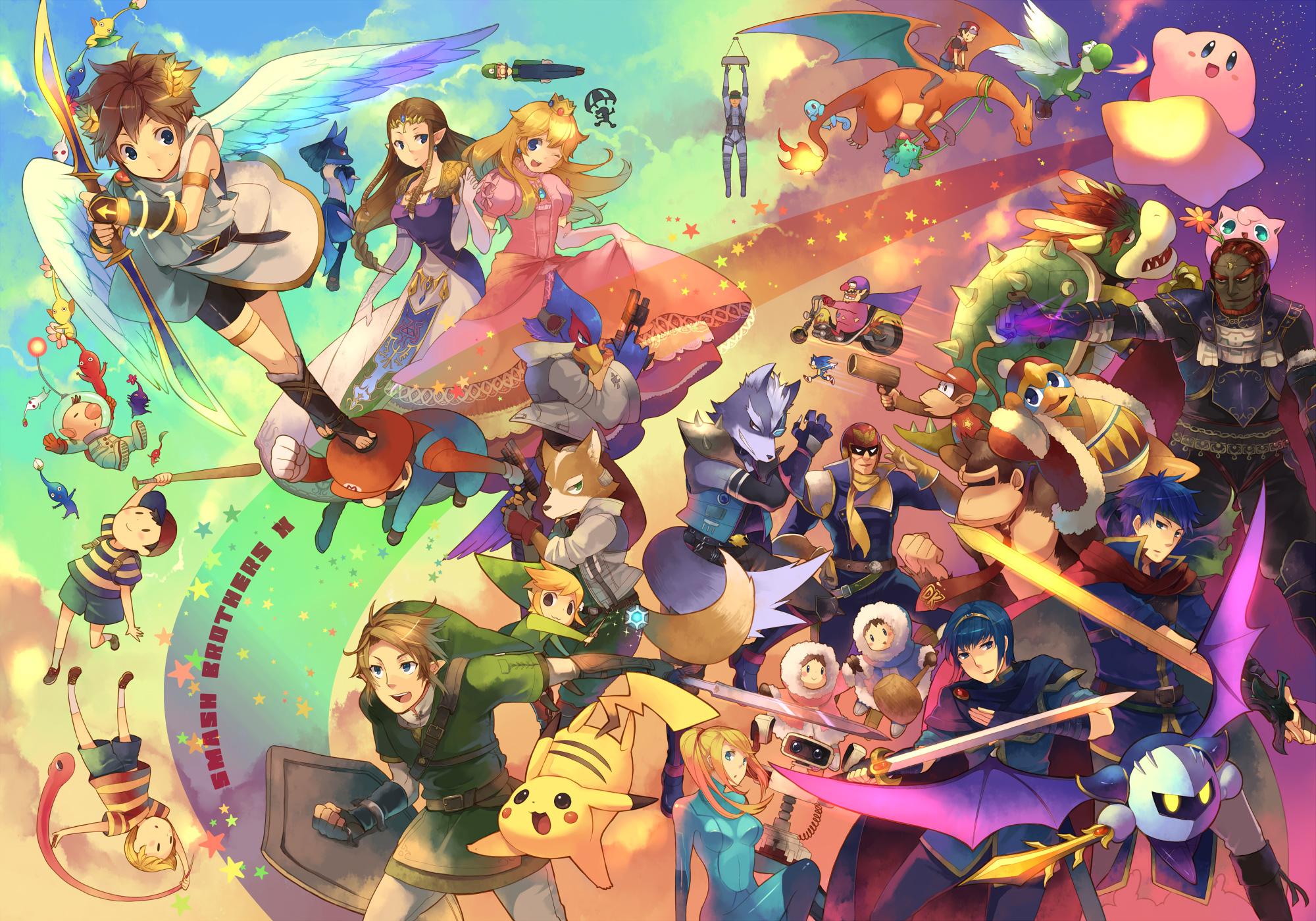 Super Smash Bros Zerochan Anime Image Board