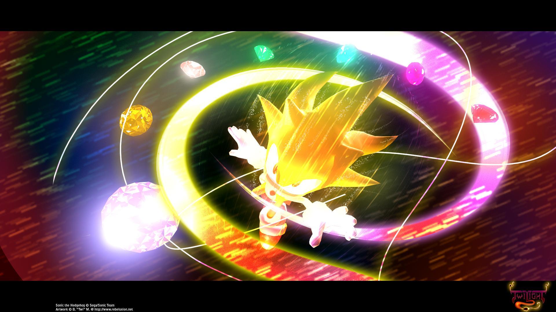 Sonic the hedgehog wallpaper zerochan anime image board - Super sonic wallpaper free download ...