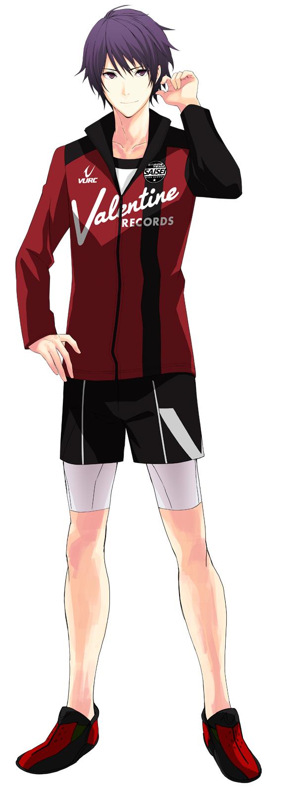Tags: Anime, Nono Kanako, PRINCE OF STRIDE, Suwa Reiji, PNG Conversion, Official Art