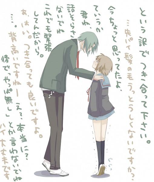Tags: Anime, Genmai (Pixiv17772), Suzumiya Haruhi no Yuuutsu, Tsuruya, Nagato Yuki