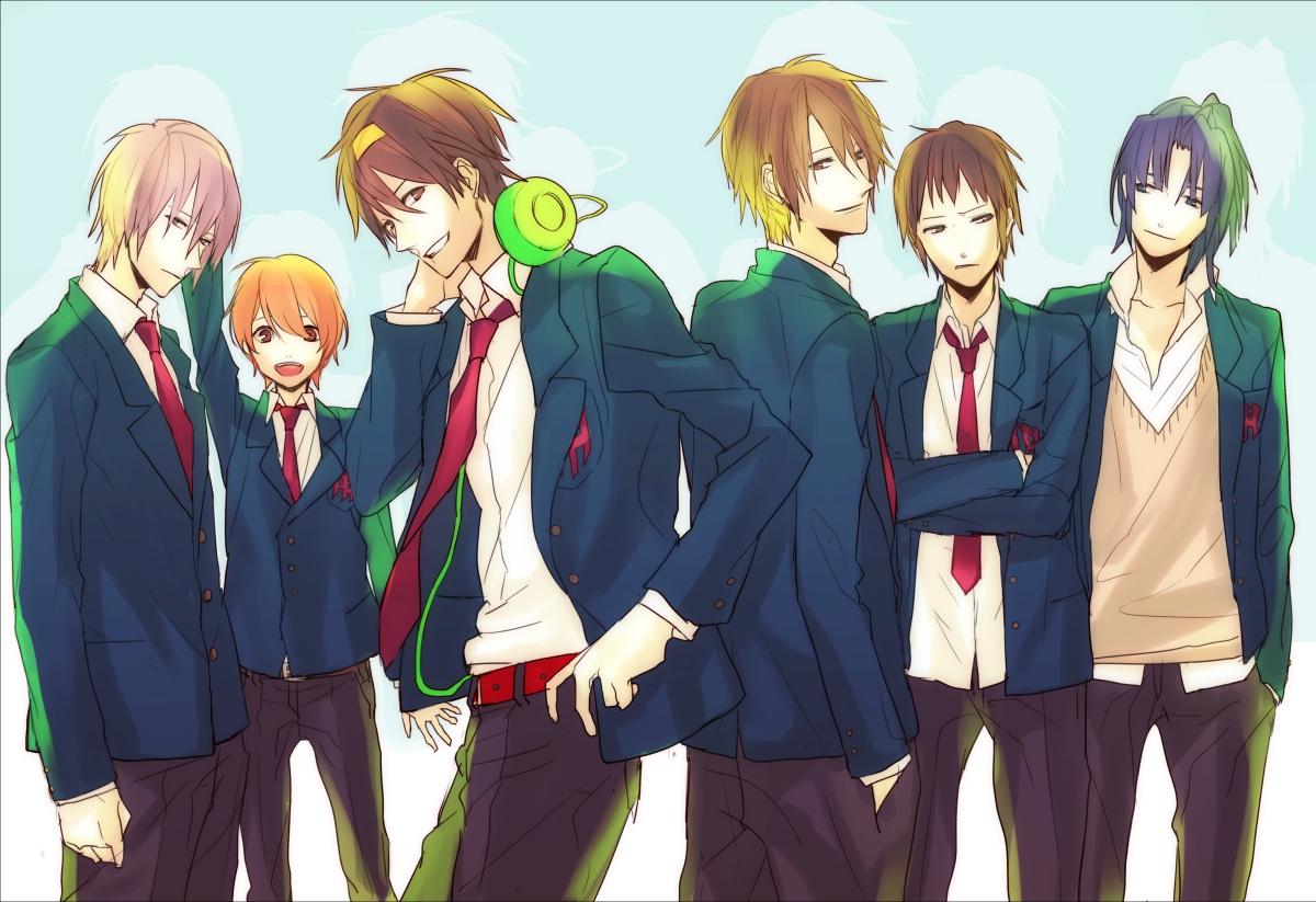 Orange shirt | page 2 of 61 zerochan anime image board.
