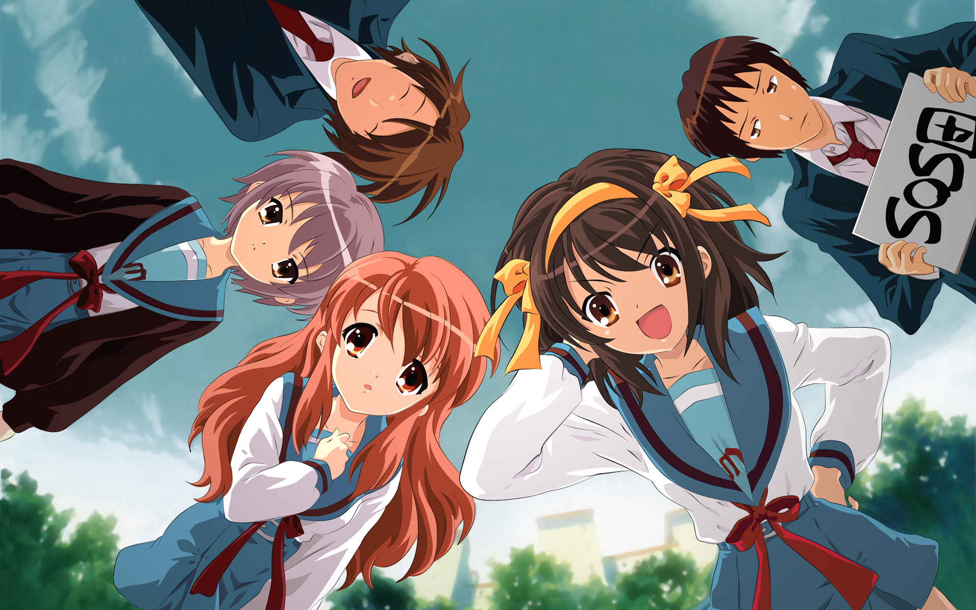 Suzumiya Haruhi, Wallpaper - Zerochan Anime Image Board