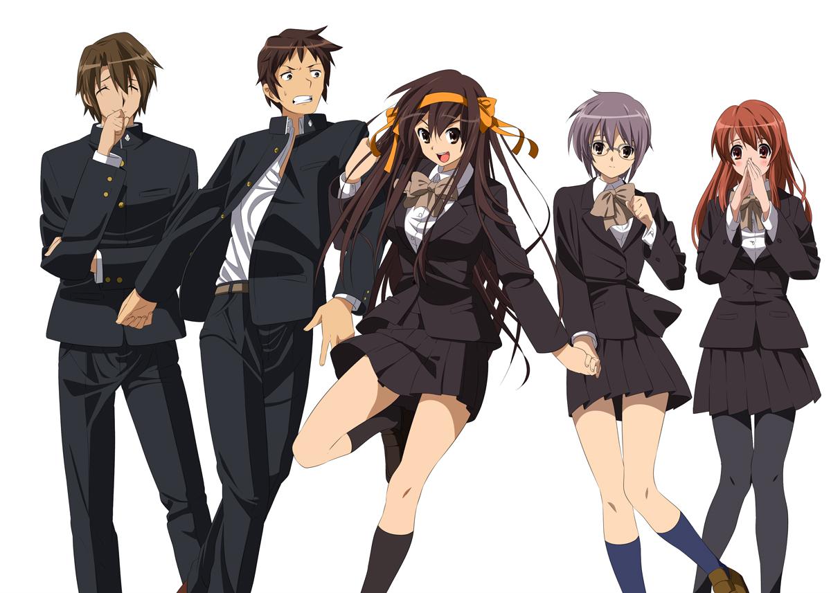 Tags  Anime  Suzumiya Haruhi no Yuuutsu  Kyon  Nagato Yuki  Asahina    Itsuki X Kyon