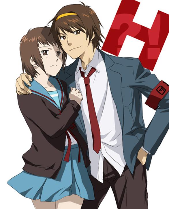 Tags: Anime, Pixiv Id 63337, Suzumiya Haruhi no Yuuutsu, Kyon, Suzumiya Haruhi, Fanart, The Melancholy Of Haruhi Suzumiya