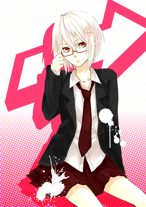 Tags: Anime, Pixiv Id 232731, To Aru Majutsu no Index, Accelerator, Suzushina Yuriko, Mobile Wallpaper, Pixiv, Fanart, Fanart From Pixiv