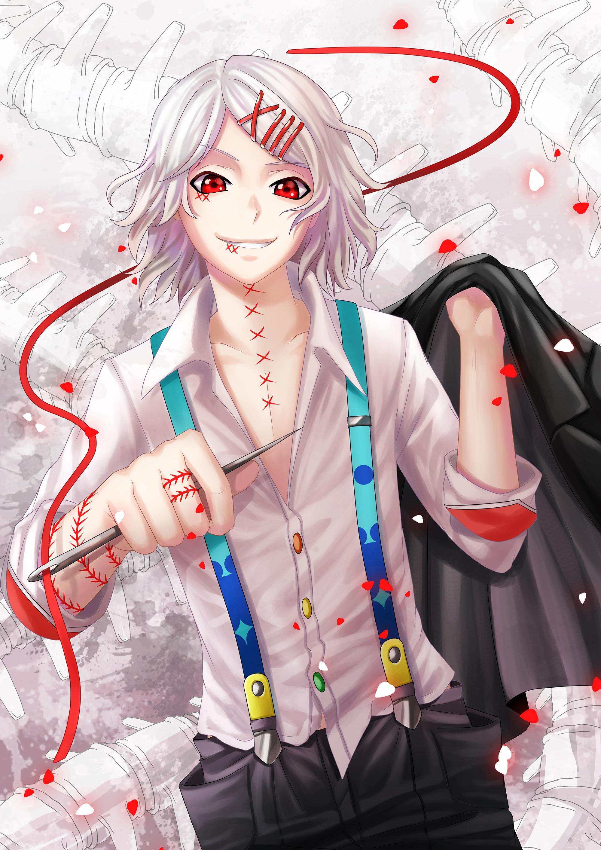 Anime Characters Like Juuzou : Suzuya juuzou tokyo kushu mobile wallpaper