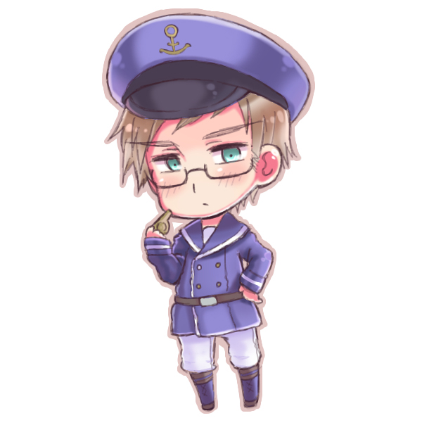 Tags: Anime, Himaruya Hidekaz, Axis Powers: Hetalia, Sweden, Whistle (Object), Fanart, Pixiv, Nordic Countries