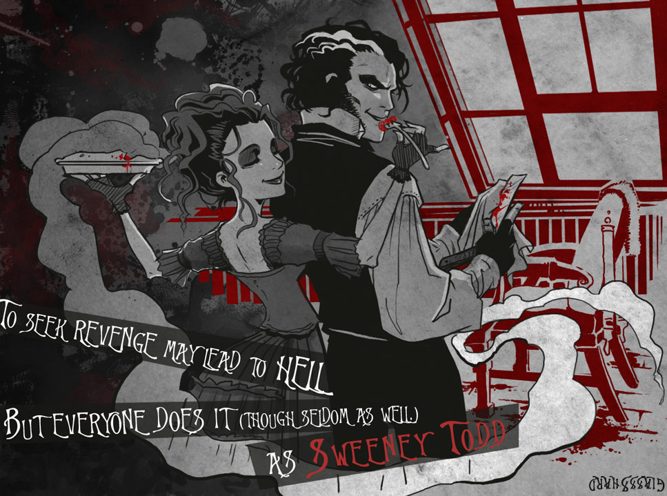 sweeney todd the demon barber of Johnny depp and tim burton join forces again in a big-screen adaptation of stephen sondheim's award-winning musical thriller sweeney todd depp stars in th.