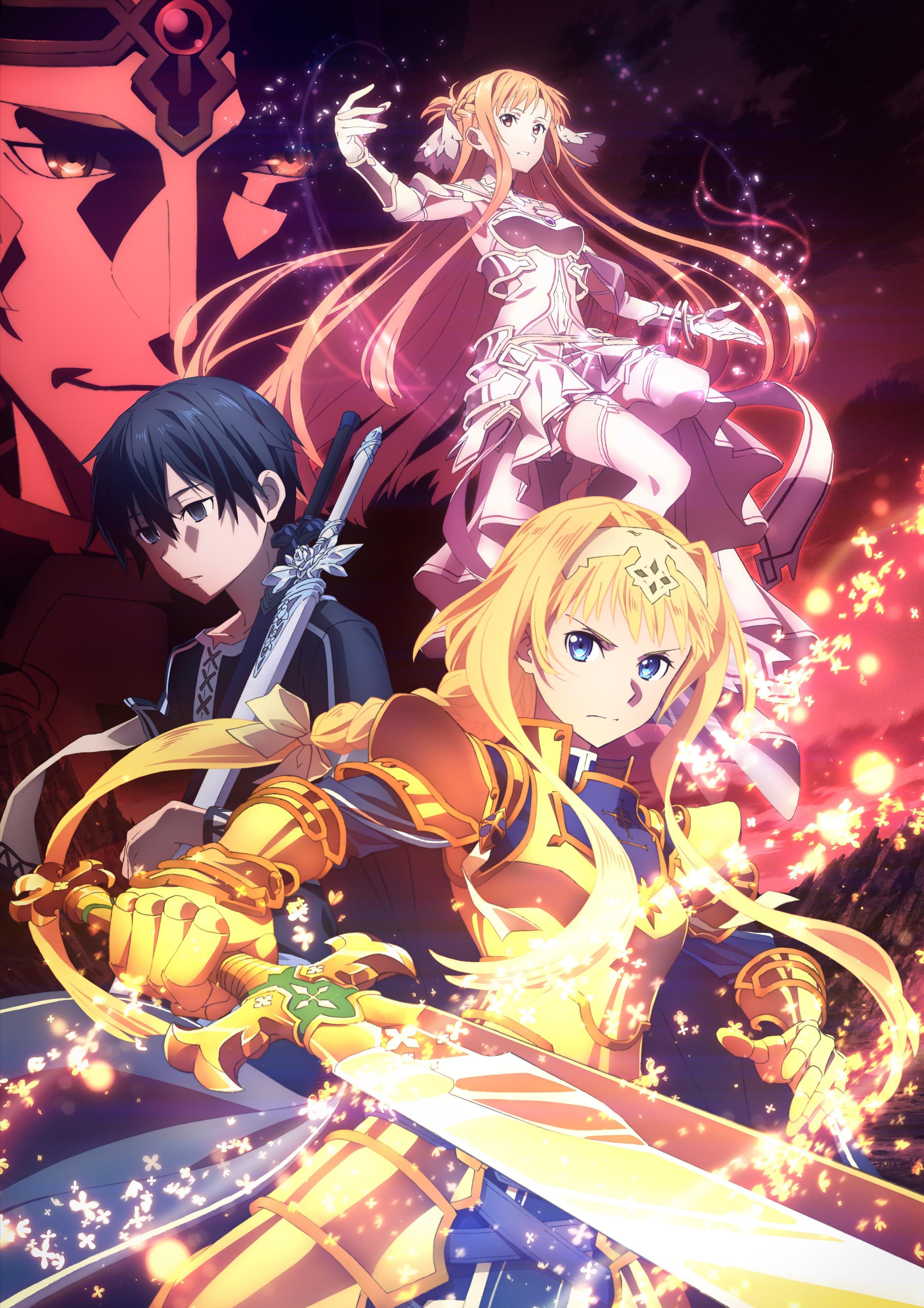 Sword Art Online Alicization War Of Underworld Zerochan Anime