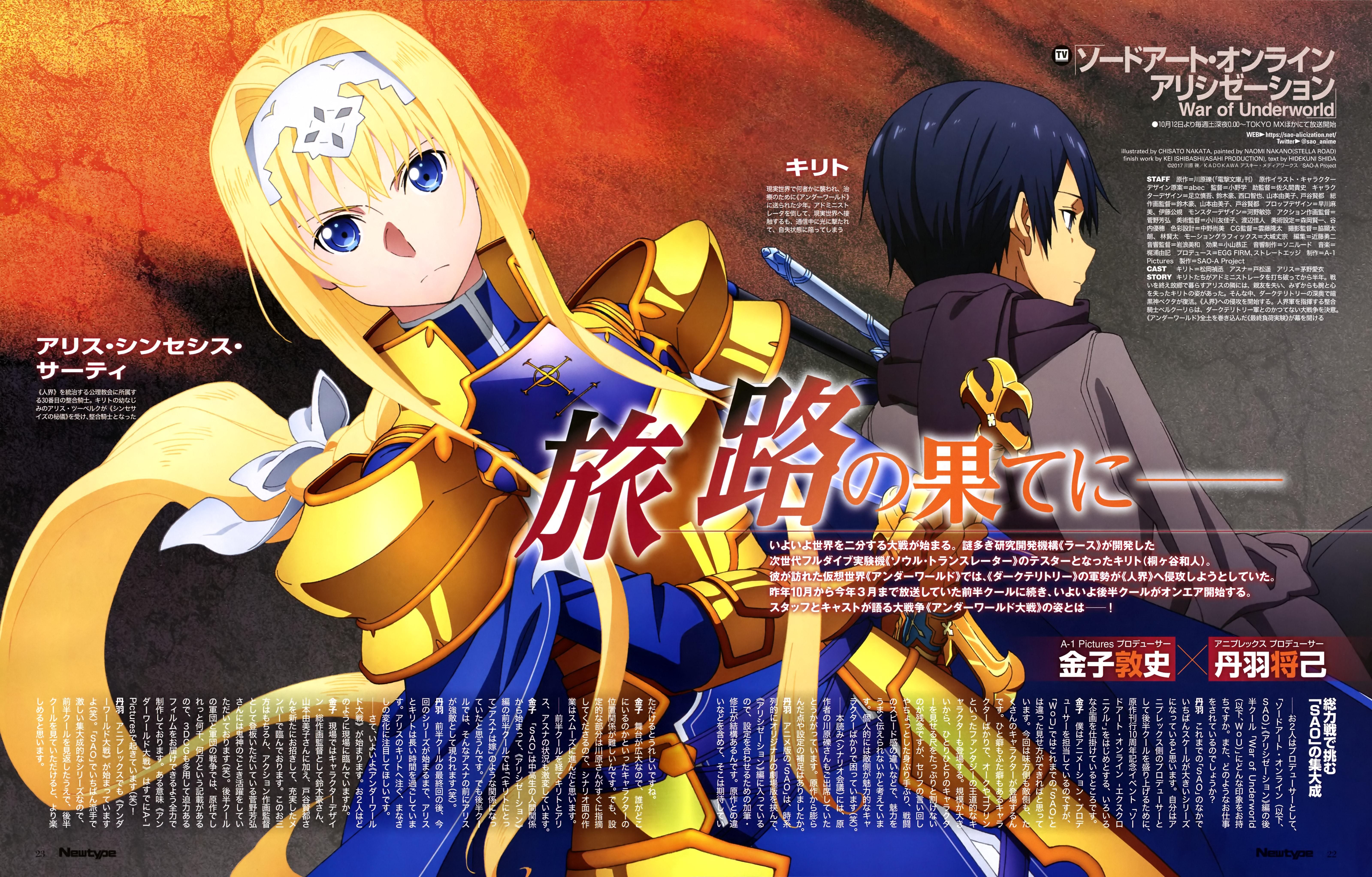 Sword Art Online Alicization War Of Underworld Zerochan