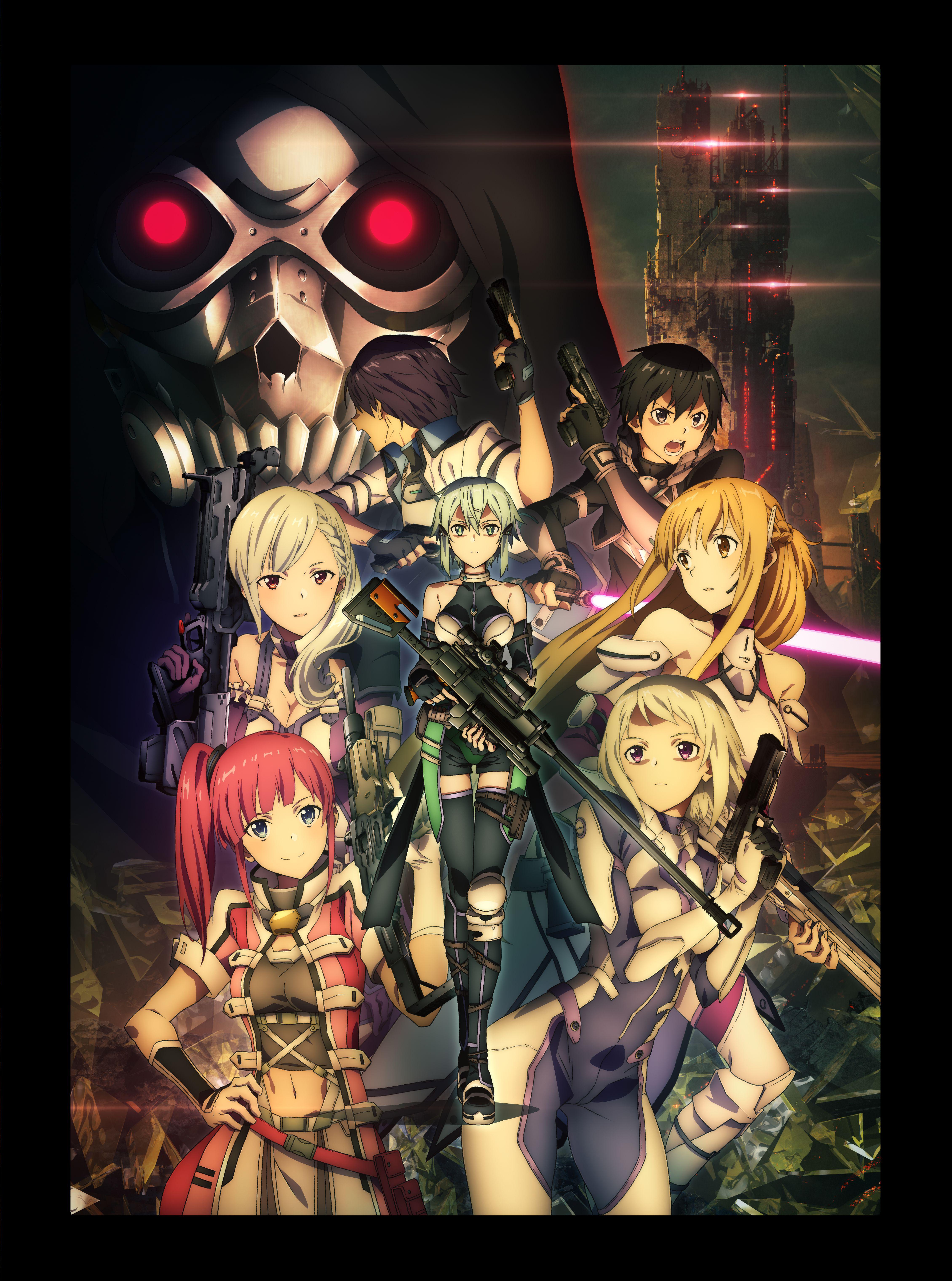 Sword Art Online Fatal Bullet Zerochan Anime Image Board