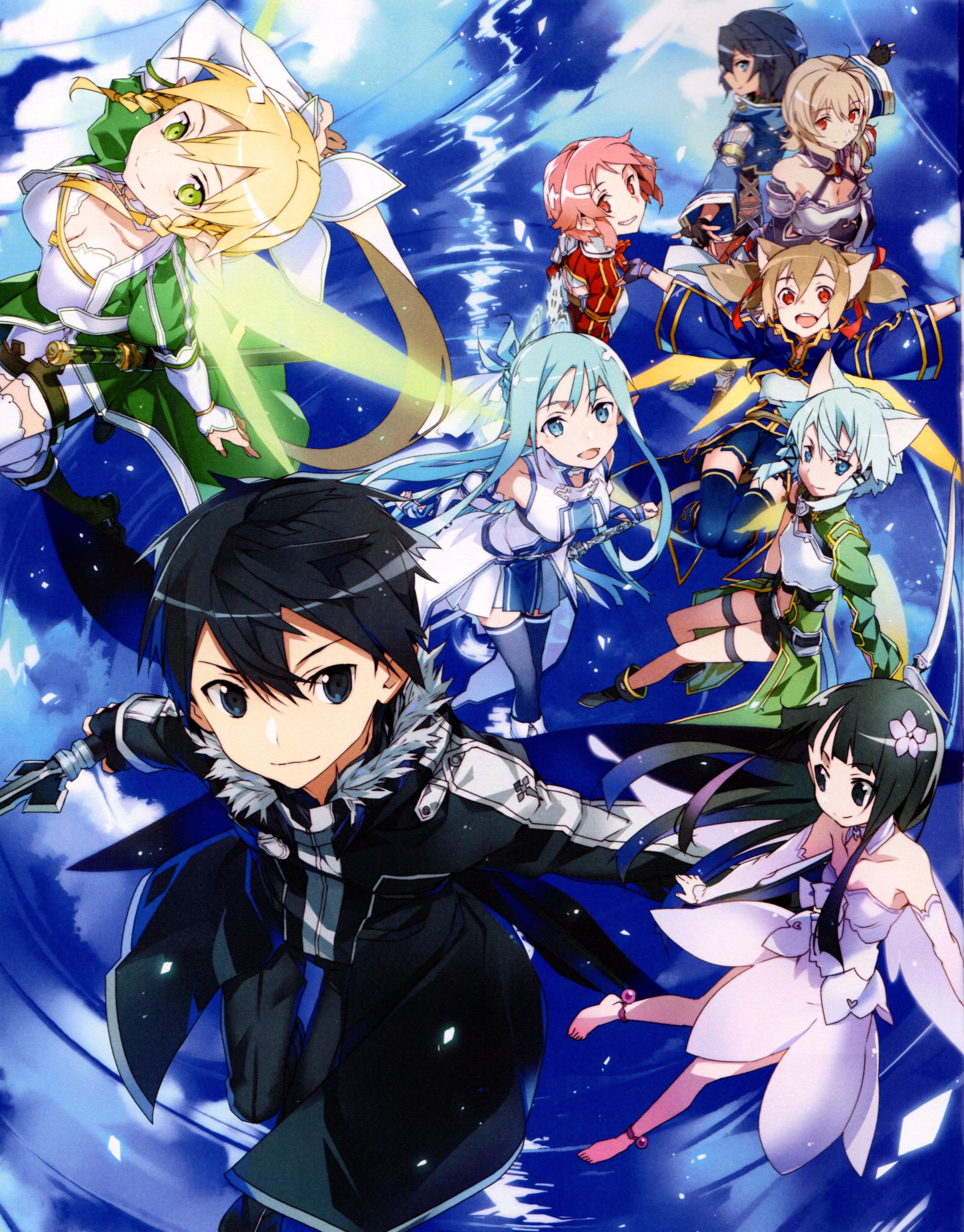 Sword Art Online Lost Song Zerochan Anime Image Board