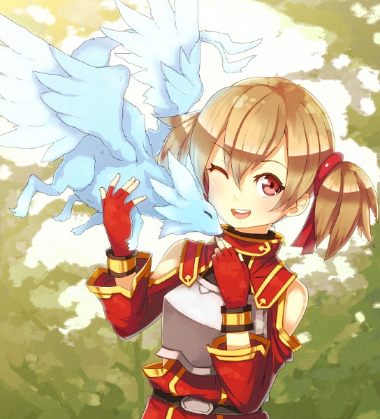 Tags: Anime, Nosuku, Sword Art Online, Pina (Sword Art Online), Ayano Keiko, Dragon