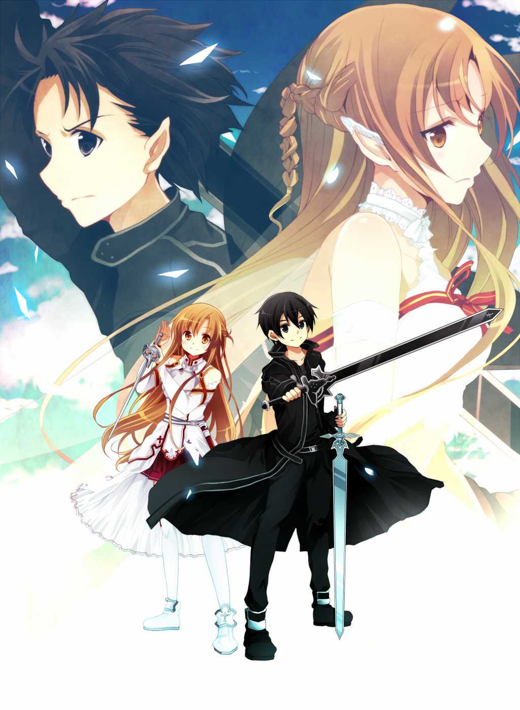 Sword Art Online Wallpaper 1024x1400 ソードアート オンライン