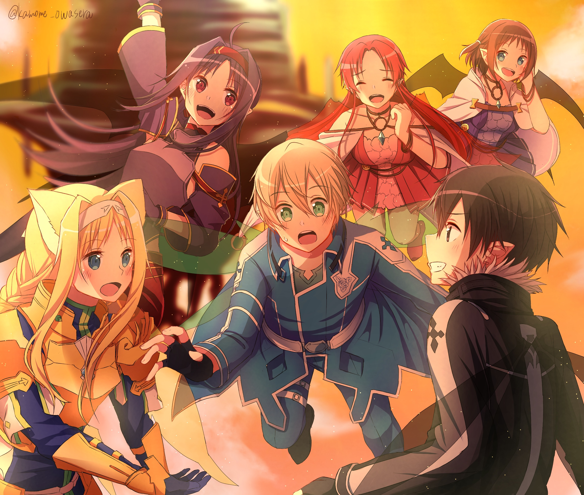 Sword Art Online Image 2747216 Zerochan Anime Image Board