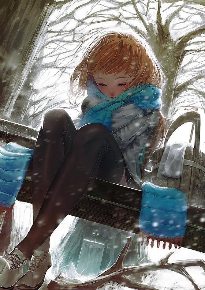 Tags: Anime, Syh3iua83, Face Down, Bucket, Pixiv, Original, Mobile Wallpaper