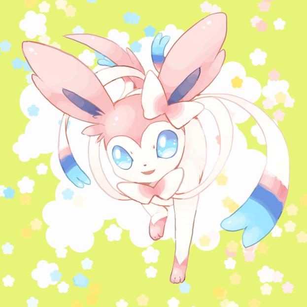 Sylveon Pok Mon Image 1428683 Zerochan Anime Image