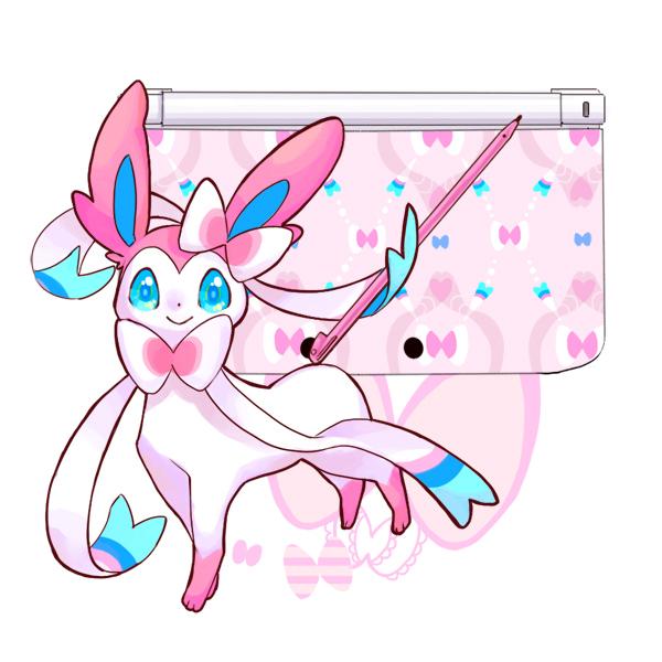 Tags: Anime, Rikovui, Pokémon, Sylveon, Nintendo 3DS, Fanart, Fanart From Pixiv, Pixiv